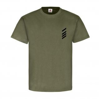 Stabsgefreiter Dienstgrad Bundeswehr BW Abzeichen Schulterklappe T Shirt #15875