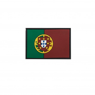 Patch Portugal 3D Rubber Portugal Flagge Flag Morale Land Einheit BW #32085