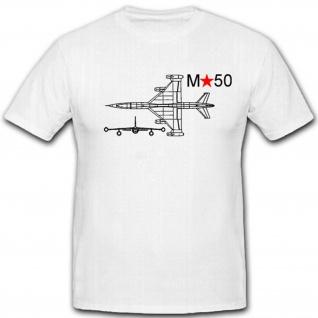 M50 Russisches Prototyp Flugzeug Militär Sowjet Luftwaffe - T Shirt #2706