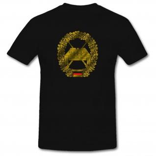 Barettabzeichen Panzerjäger Bundeswehr Wappen Logo Abzeichen Pz T Shirt #1106
