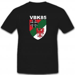 Vbk85 Verteidigungsbezirkskommando 85 Bundeswehr Militär T Shirt #3376