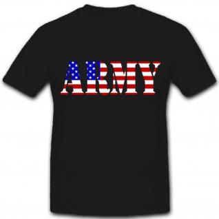 Army Flagge - T Shirt #6252