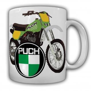 Tasse Puch-Tasse 500ccm Motocross Motorrad Geländemotorrad Biker #22260
