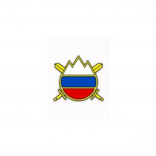 Aufkleber/Sticker Slowenische Streitkräfte Verteidigungsministerium 8x7cm #A2351