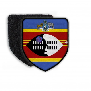 Patch Flag of Swaziland Flagge Staat Wappen Landesflagge Wappenzeichen #21331