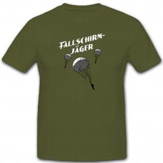 Fallschirmjäger Militär Bundeswehr Einheit WK WH - T Shirt #2801