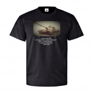 Veteran der NVA 9 Panzerdivision T72 Panzer DDR Rudolf Renner T-Shirt #26844