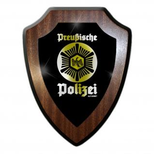 Wappenschild Preußische Polizei Preußen Wappen Abzeichen Emblem #27087