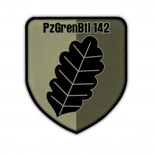 Patch PzGrenBtl 142 Tarn Typ 2 Panzergrenadierbataillon Wappen Abzeichen #14718