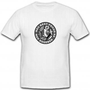 NEC BEST FOCUS 80 NAS EGGEBEK Wappen Abzeichen Emblem T Shirt #5040