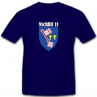 Nschbtl 11 Nachschub Bataillon Bundeswehr Wappen Abzeichen - T Shirt #3474