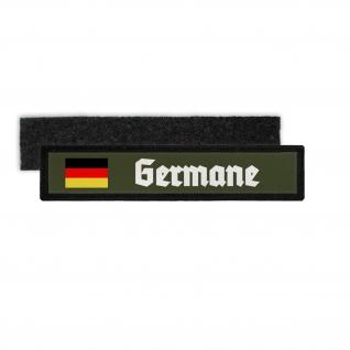 Germane Germany Deutschland Uniform Namensschild Patch #26692