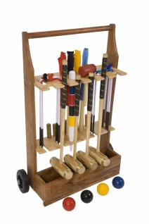 Executive Croquet set - Junior - Komplett - Ultraluxus met Trolley