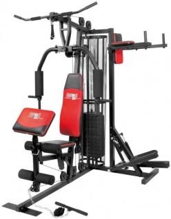 Christopeit Profi Center de Luxe Fitness-Station schwarz, 99881