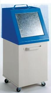 Wertstoffbehälter Abfallbehälter fahrbar 80 Liter 955x420x420 mm HxBxT 16/WB0...