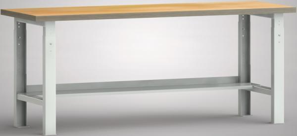 Werkbank 2000x700x740-1040 mm LxTxH höhenverstellbar mit Ablageboden WS513V-2000M40-X1582 - Vorschau
