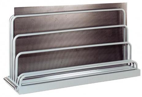 Tafelregal bis Tafelgröße 3000x2000mm 5 Fächer 12/TR5-50