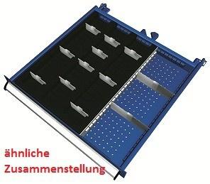 Einteilungsmaterial 55-teilig für Schubladenschrank SGB1000-06