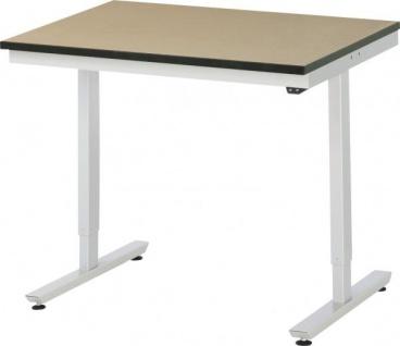 Arbeitstisch adlatus 150 höhenverstellbar mit MDF-Platte - Vorschau 3
