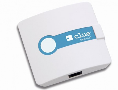Clue Medical Eventrecorder EKG Stresslevelmesser und Herzfrequenzmesser