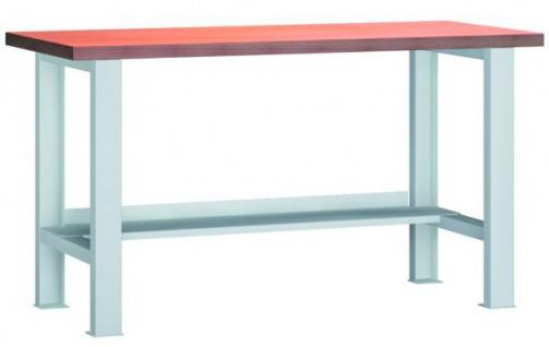 Werkbank 1500x700x840 mm LxTxH mit Ablageboden