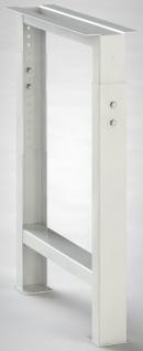 Werkbank-Fusselement höhenverstellbar H 700-1000 mm FE-UVP-02 Werkbankfuß