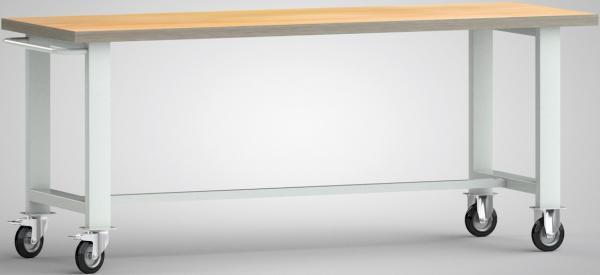 Werkbank fahrbar mit Schiebebügel WS800N