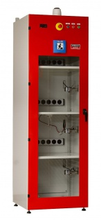 Akku-Ladeschrank mit Branderkennung Löschanlage Stat-X Aerosol-Löschgenerator...