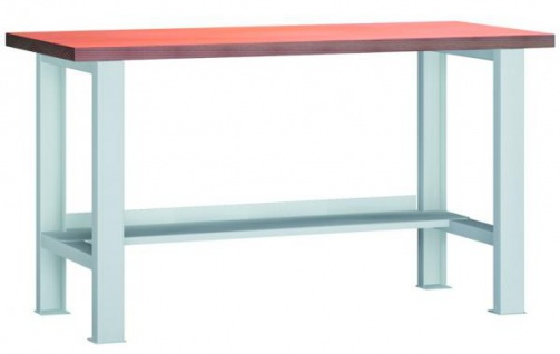 Werkbank 2000x700x840 mm LxTxH mit Stahlblechboden