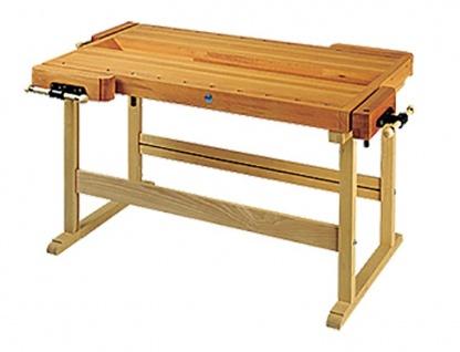Hobelbank Duplo Modell 8A 1500x850x860 doppelseitig Holzwerkbank