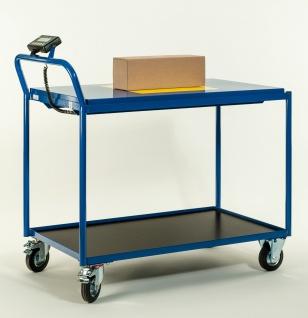 Tischwagen mit Waage Transportwagen Waagewagen 1120x600x1000 mm LxBxH 8634-81...