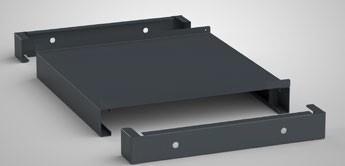 Hubwagensockel für Schubladenschrank Serie SGB 725 x 750 mm SGB-HSO-100