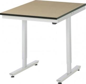 Arbeitstisch adlatus 150 höhenverstellbar mit MDF-Platte - Vorschau 2