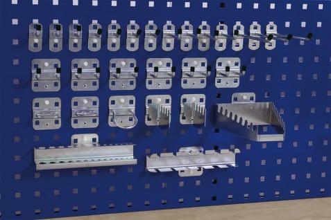 Hakensortiment für Lochwand 28-teiliges SET ZULP-HS83-197