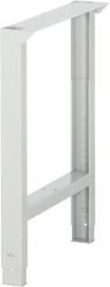 Werkbankfuss Fussteil C-Profil höhenverstellbar 750-1100 mm 03 EFHV.12KV Serie 7000