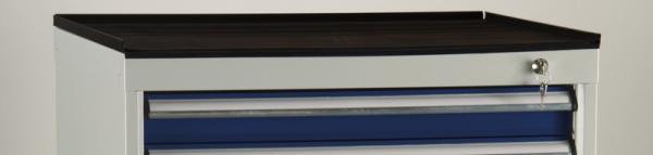 Abrollrand mit Riefengummi für Schubladenschrank 725 x 750 x 19 mm BxTxH SGB-ARR3G