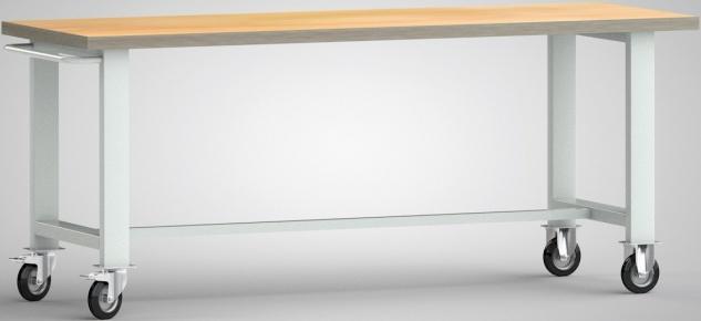 Werkbank mit Schiebebügel 2000x700x840 mm WS800N-2000M40-X1890