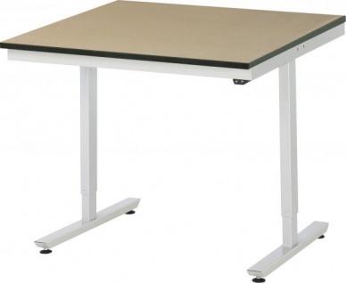 Arbeitstisch adlatus 150 höhenverstellbar mit MDF-Platte - Vorschau 4
