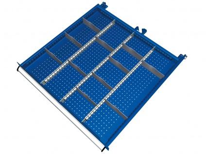 Einteilungsmaterial für Schubladenschrank SGB0800-06-001 SET 48-teilig