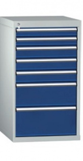 Schubladenschrank 1000x572x605 HxBxT 7 Auszüge - Vorschau