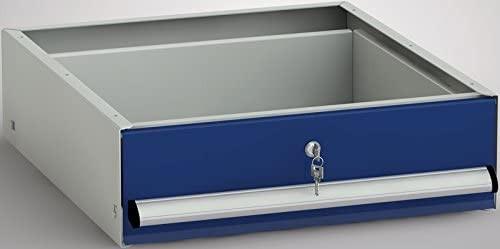 Metallschublade Einzelschublade mit Aufhängerahmen 157 x 520 x 590 mm HxBxT