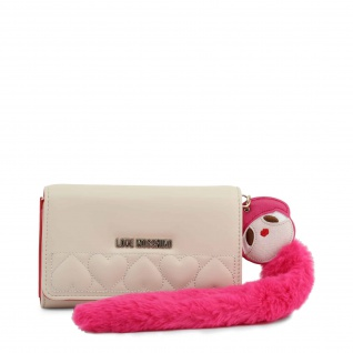 Love Moschino Clutch Damen Weiß
