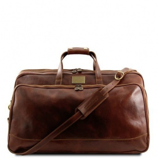 Tuscany Leather Bora Bora - Trolley - Ledertasche - Klein Braun