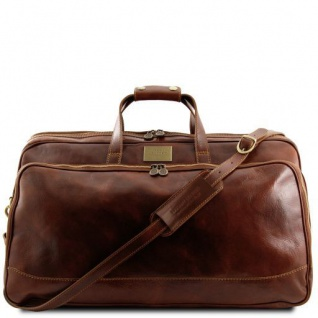 Tuscany Leather Bora Bora - Trolley - Ledertasche - Gross Braun
