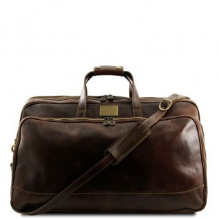 Tuscany Leather Bora Bora - Trolley - Ledertasche - Klein Dunkelbraun