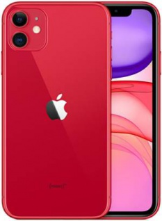 "Apple iPhone 11 64GB 6.1"" (Product)RED EU MWLV2ET/A"