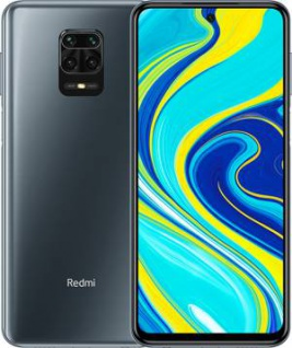 "Xiaomi Redmi Note 9s 6+128GB 6.67"" Interstellar Grey DS ITA"