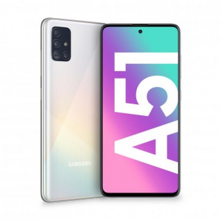 "Samsung Galaxy A51 SM-A515F 4+128GB 6.5"" Prism Crush White DS ITA"