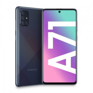 "Samsung Galaxy A71 SM-A715F 6+128GB 6.7"" Prism Crush Black DS ITA"