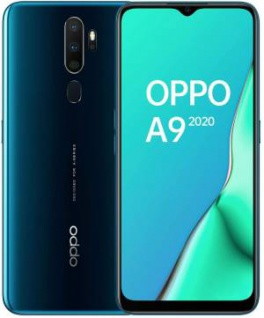 "OPPO A9 2020 4+128GB 6.5"" Marine Green DS ITA"